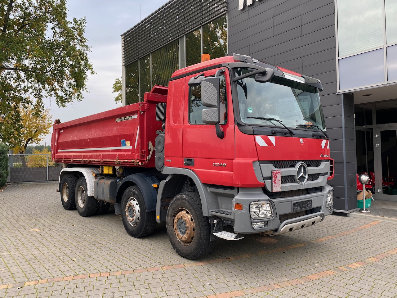 Mercedes Benz Actros 3248 E5 8×4 Bordmatik